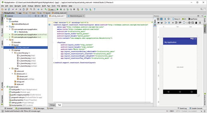 An Introduction to the Android Studio Integrated Development