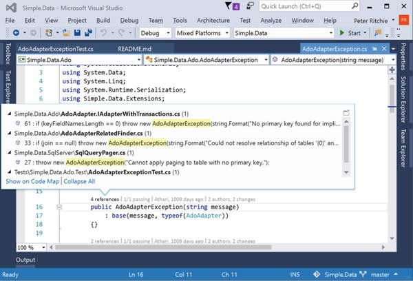 Introduction to Visual Studio 2015 | SpringerLink