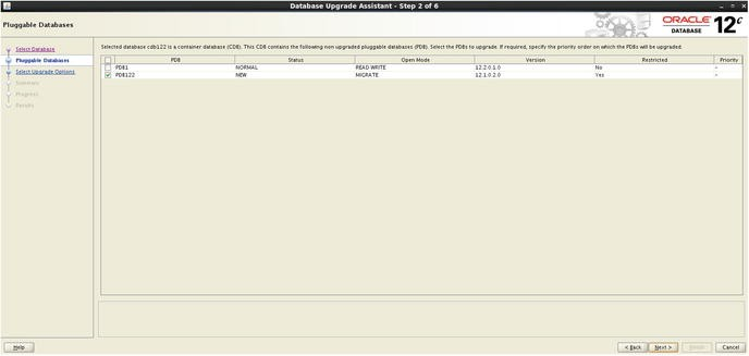 Oracle Database Upgrades in Oracle Database Release 12 2