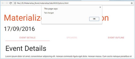 Materialize JavaScript | SpringerLink
