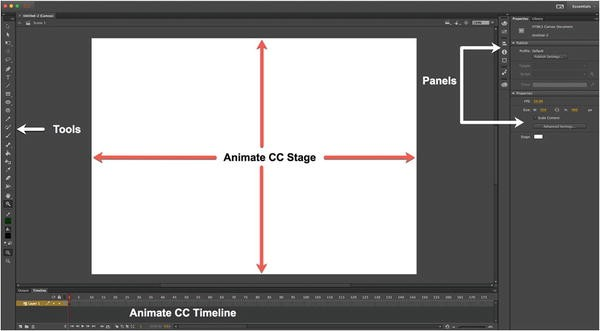 Learning the Animate CC Interface | SpringerLink