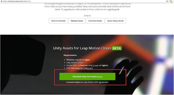 Getting Started with Unity and Leap Motion | SpringerLink
