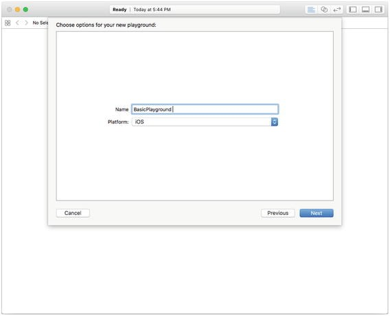 Creating a Simple Swift Playground on Xcode   SpringerLink