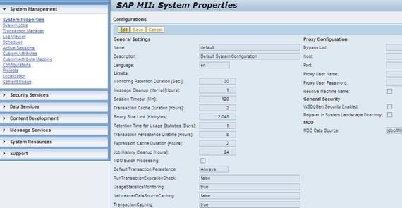 SAP MII Overview   SpringerLink