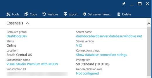 Beginning Application Development with Azure Web Apps, SQL