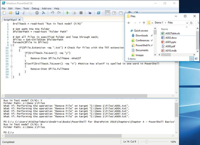 PowerShell Basics   SpringerLink