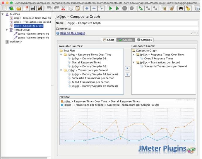 Jmeter graph plugins