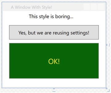 WPF Resources, Animations, Styles, and Templates | SpringerLink