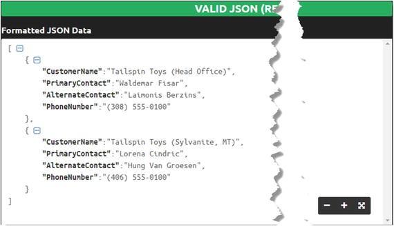 Constructing JSON | SpringerLink