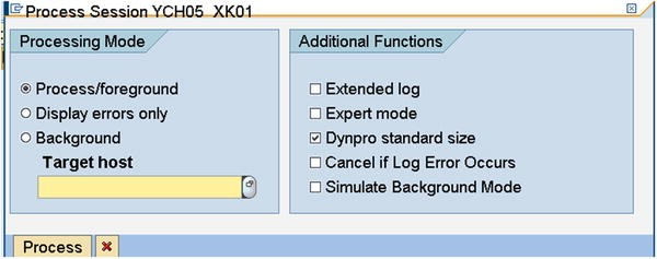 Migration Using Batch Input Session and Call Transaction