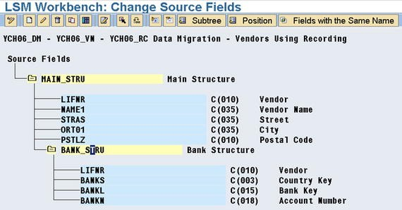Data Migration Using Legacy System Migration Workbench LSMW