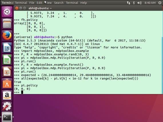 Applying Python to Reinforcement Learning | SpringerLink