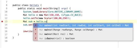 OpenCV on the JavaVM | SpringerLink