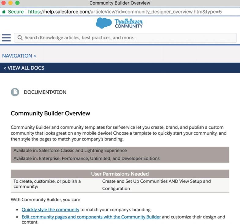 Community Builder for Lightning Communities   SpringerLink