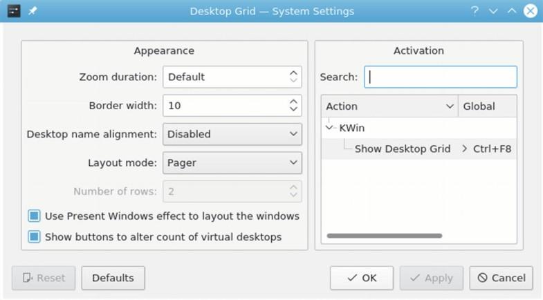 Plasma Desktop: The K Desktop Environment (KDE)   SpringerLink