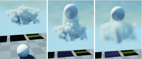 Modeling and Rendering of Volumetric Clouds in Real-Time