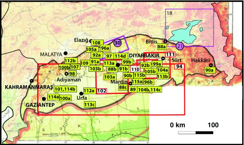 The Geomorphological Regions of Turkey   SpringerLink