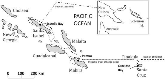 The Failed Sixteenth Century Spanish Colonizing Expeditions