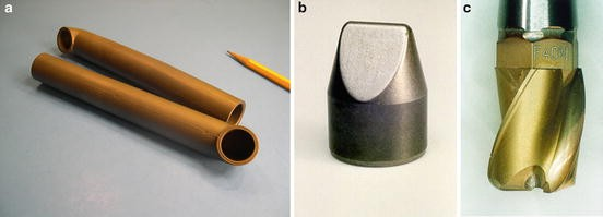x 1 1//8 high Ferro-Tic blank cylinder 3//4 d titanium carbide