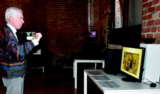 D Coform Exhibition : Interactive tangible and multi sensory technology for a cultural