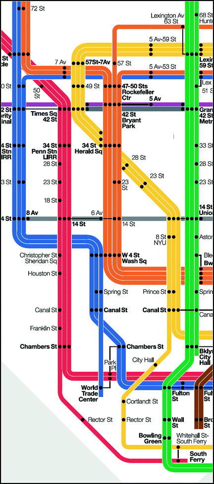 Rochster Subway Map If It Exist.Metro Map Colour Coding Effect On Usability In Route Tracing