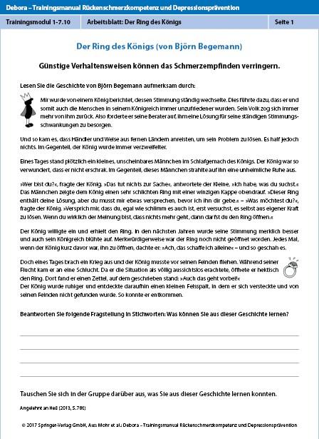 Trainingsmodul 1: Verhalten und Schmerz | SpringerLink