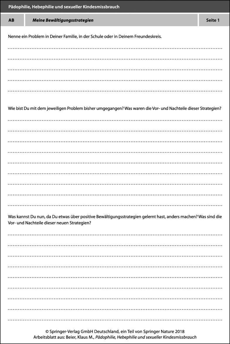 Arbeitsblätter BEDIT-A   SpringerLink