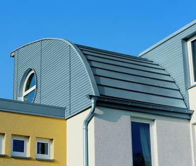 Länge Aluminium Dachrandprofil Zuschnitt 200 Mm 2 Meter Zinkgrau Hindernis Entfernen