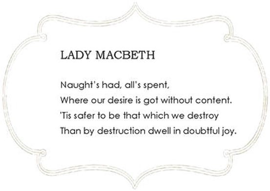Lesson 37 Lady Macbeths Doubtful Joy Act 3 Scene 2 And More