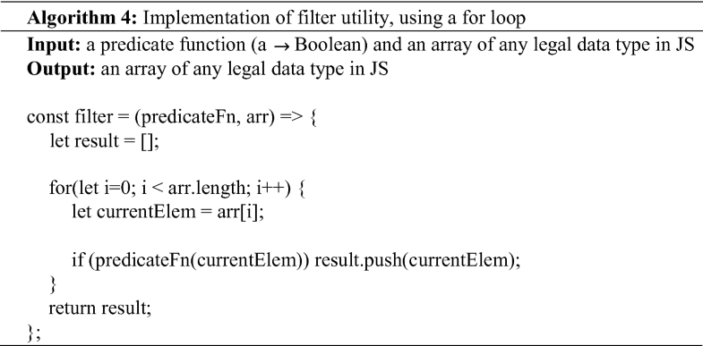 Functional Programming Patterns in JavaScript | SpringerLink
