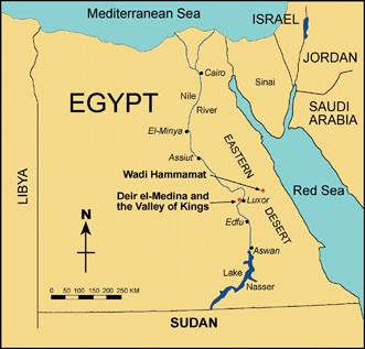 thebes ancient egypt map Maps And Mapmaking In Egypt Turin Papyrus Map Springerlink