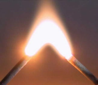 Carbon Arc Lamp, Fig. 1