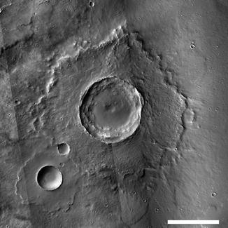 Single Layer Ejecta, Fig. 1
