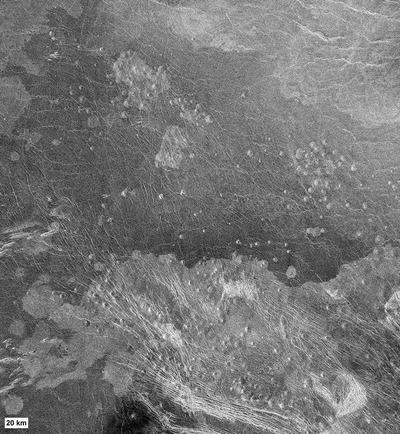 Small Volcano (Venus), Fig. 1