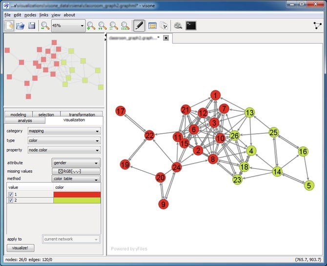Visual Methods and Tools for Social Network Analysis