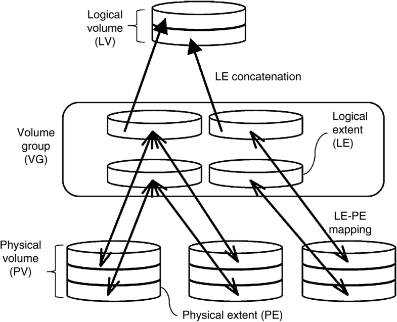 Logical Volume Manager, Fig. 1