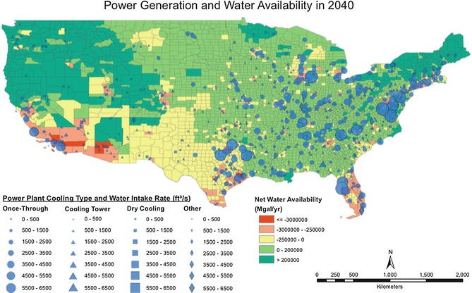 Climate and Human Stresses on the Water-Energy-Food Nexus