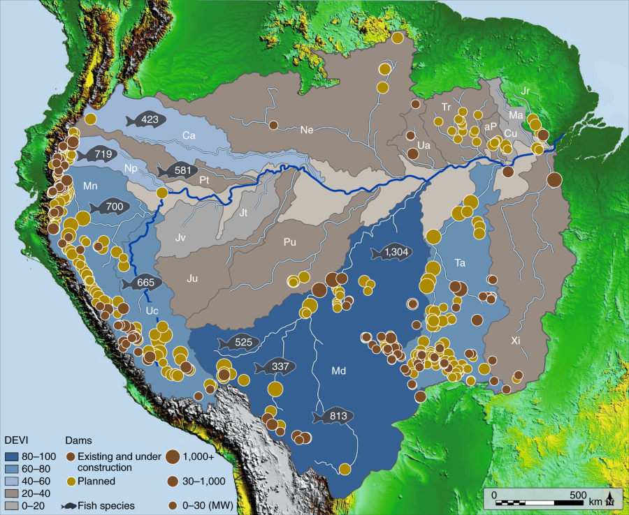 Anthropogenic stresses on the world's big rivers | Nature Geoscience
