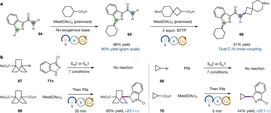 Fig 5 Sequential Cn Couplings And Comparisons With Nucleophilic