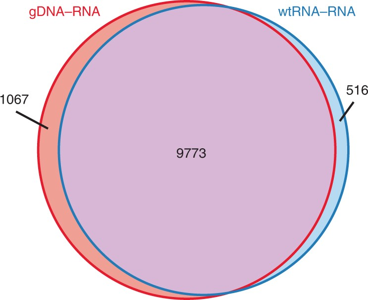 Fig 2 Venn Diagram Shows The Comparison Of Two Methods Used To