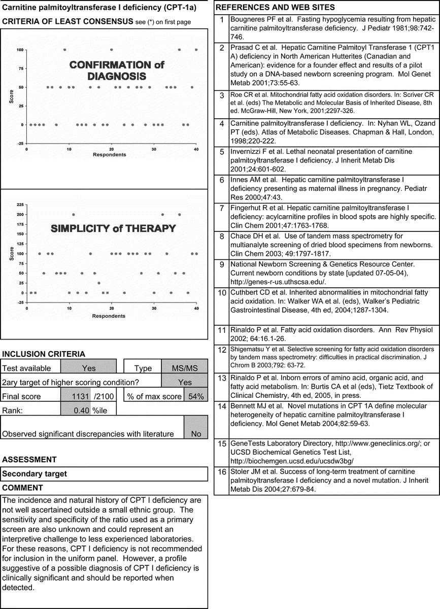 Main Report | Genetics in Medicine