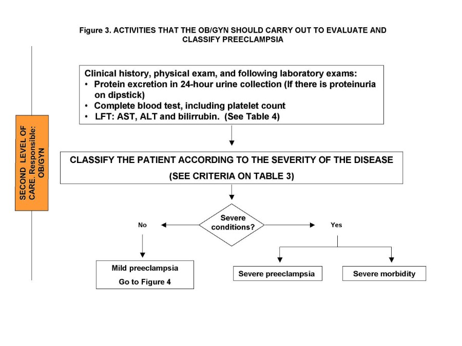 Critical pathways for the management of preeclampsia and severe