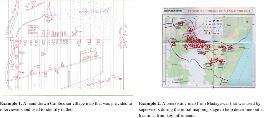 Methods for implementing a medicine outlet survey: lessons ... on religion map, trade map, languages spoken map, gender map,