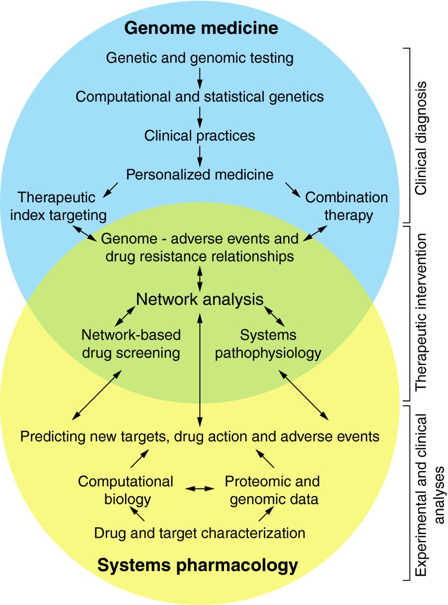 Systems pharmacology and genome medicine: a future