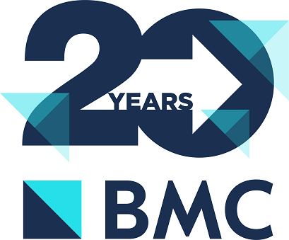 BMC 20th Anniversary logo medium