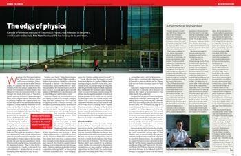 Physics: The edge of physics | Nature