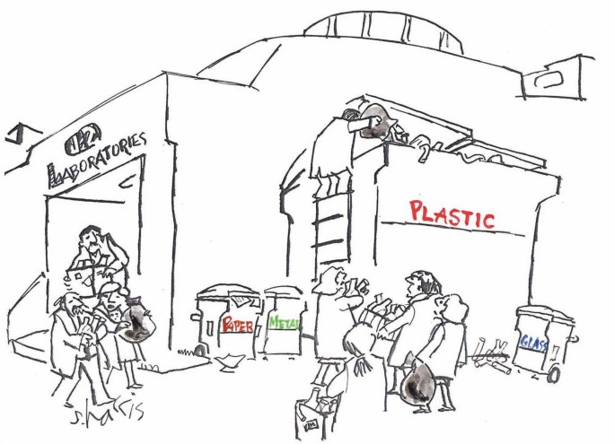 Reduce, reuse and recycle lab waste - Nature