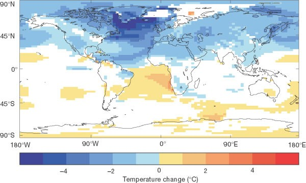 Ocean circulation and climate during the past 120,000 years