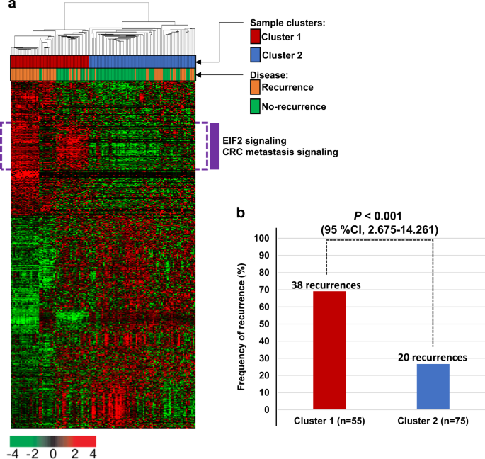 A Prognostic Index Based On An Eleven Gene Signature To Predict Systemic Recurrences In Colorectal Cancer Experimental Molecular Medicine