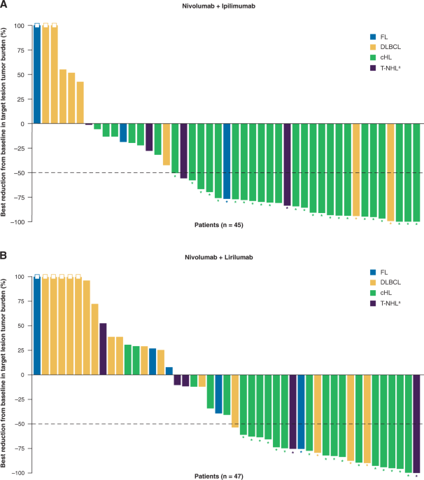 A Phase 1b Study Of Dual Pd 1 And Ctla 4 Or Kir Blockade In Patients With Relapsed Refractory Lymphoid Malignancies Leukemia